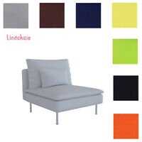 Custom Made Cover Fits IKEA Soderhamn One Seat Sectional, Replace Cover