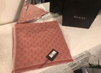 Gucci Schal Tuch 140 *140 cm Rosa