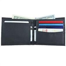 Men's Luxury RFID Bifold Extra Capacity Travel Wallet, Durable Construction, NEW