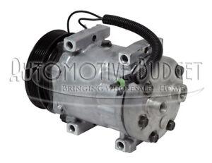 A/C Compressor w/Clutch for Jeep Cherokee Comanche & Wrangler - REMAN