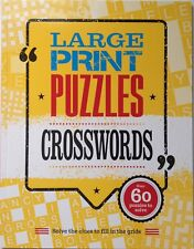Crosswords - over 60 Large Print Puzzles