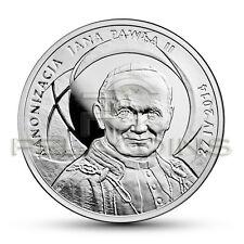 Polska 2014 10zł Kanonizacja Jana Pawła II / Canonization of John Paul II