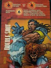 Marvel Overpower Monumental Double Shot 6F 4F  6E F Gambit & Bishop
