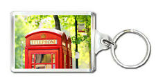 LONDON PHONE KEYRING SOUVENIR LLAVERO