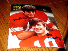 Dave Buckley Don Buckley Nc State Wolfpack Signed 8x10 Sports Illustrated Photo