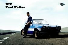"""Fast And Furious 6 Paul Walker Banner Poster 24"""" x 36"""""""