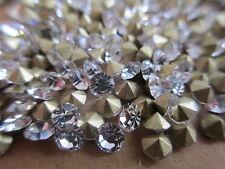 40 Gross PP18 Crystal Rhinestones - Fully Machine Cut Stones w/ Original Packs