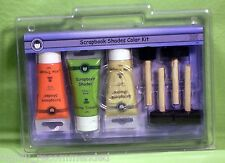 Scrapbook Shades Color Kit Little Trooper 3 Shades, 4 Brushes, 1 Paint Tray!