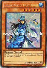 Yu-Gi-Oh 1x General Raiho of the Ice Barrier - - - ha04