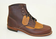 Wolverine 1000 Mile Wingtip Addison Boots Size 43 US 10 Lace Up Boots W06000