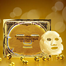 150x Gold Bio Collagen Facial Face Mask Anti Aging Wrinkle Orogold WholeSale Lot
