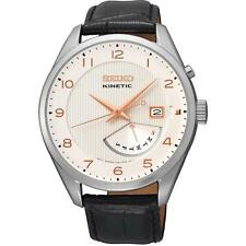 Seiko Kinetic Mens Watch. Classic & Elegant. Powered by Movement. SRN049P1