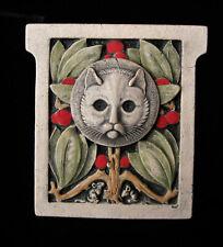 Cat Mice Garden Arts & Crafts Gothic Ellison Tile