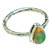 Ethiopian Opal 925 Sterling Silver Ring Size 6.25 Ana Co Jewelry R47588F