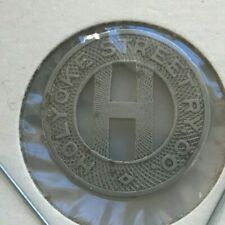 Holyoke Massachusetts MA Holyoke Street Ry Co Transportation Token