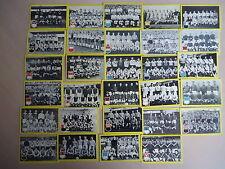 TRADING CARDS FOOTBALL TEAMS INTERN. 29x maple leaf gum