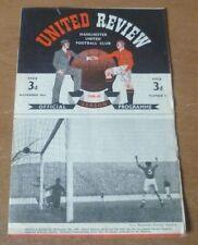 Manchester United v Birmingham City, 1948/49 - Division One Match Programme.