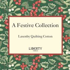 Liberty A Festive Collection Christmas Fabric, per 25cm 110cm wide