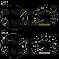 Dash Cer Gauge White Led Light Kit Fits 98 02 Toyota Corolla And Chevy Prizm 2001