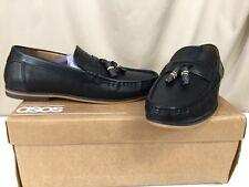 4e9ba6abae04 ASOS Black Leather Tassel Loafers Crusty Men s SZ US 9.5 ...