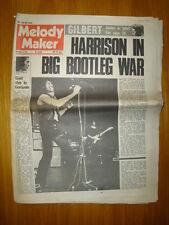 MELODY MAKER 1971 OCT 9 GEORGE HARRISON DEEP PURPLE