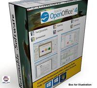 Open OFFICE 2017 PRO Edition Word Processor Microsoft Windows (Digital Download)