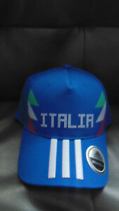New Italia Italy Soccer Adidas  Mens Womens Hat Cap New NWT Adjustable