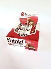 ThinkThin High Protein Bars  Chunky Peanut Butter  Chocolate Dip 10 -2.1oz Bars