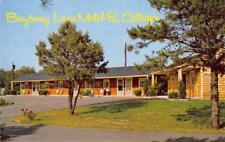 BAYBERRY LANE MOTEL & COTTAGES Sandwich, MA Cape Cod Roadside ca 1950s Postcard