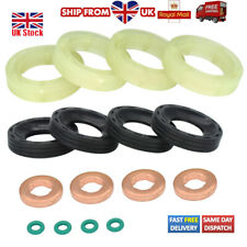 SET FOR FORD C-MAX FOCUS FIESTA 1.6TDCI FUEL INJECTOR SEAL WASHER ORING KIT