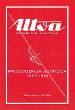Utva Aviation Industry - Gliders production 1937-1955