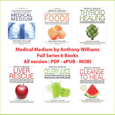 6 Books Medical Medium ⚡by Anthony William ⚡P-D-F🔥✅