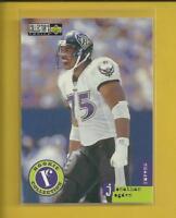 Jonathan Ogden RC 1996 Collector's Choice Update Rookie Card # U3 Ravens NFL