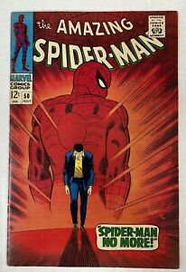 MARVEL COMICS AMAZING SPIDER-MAN #50 (1967) CENTS 1ST APP KINGPIN WILSON FISK