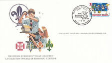 (14043) Belgium FDC Card Scouts Brussels 2 October 1982