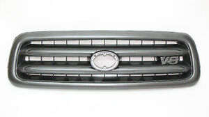 Front Grille for Toyota Sequoia 2001-2004 Gray