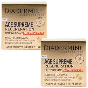 Diadermine Âge Supreme Régénération Crème Jour 2 x 50 ML Pour Maturité Peau