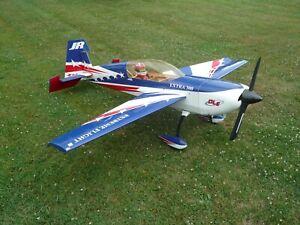 """Large RC Airplane 110"""" wing span 111cc gas motor nice plane"""