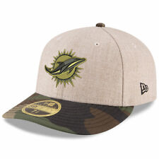 NFL Miami Dolphins New Era Heather Camo Low Profile 59FIFTY Fitted Cap Hat