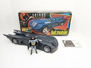 Kenner 1992 Batman The Animated Series Batmobile with box & Combat Belt Batman