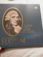 "Time Life: ""Great Men of Music: Haydn"", (4)-LP Box Set, 1976, FACTORY-SEALED 549"