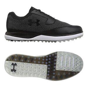 SIZE 10 New Mens Golf Shoe Under Armour UA Tour Tips Knit SL 3020991-001