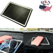 Large Anti-Slip Car Dashboard Sticky Pad Non-Slip Mat GPS Phone Holder Black