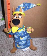 Scooby Doo plush doll w/ pacifier Hanna Barbara cartoon dog nightgown wizard