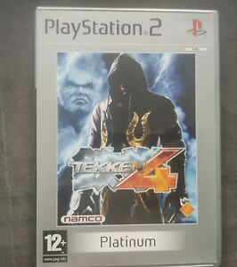 Tekken 4 Pour Sony Playstation 2 PS2 Complet
