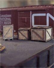 Osborn Models N Gauge * Wooden Crates * 3 Assorted Sizes * New Kit Rra3065