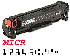 """""""MICR for Check"""" HP CC530A Black Toner Cartridge for CP2025dn, CP2025n, CM2320"""