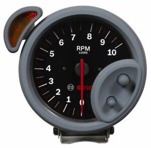 "Bosch 5"" Sport ST Tachometer 0-10,000 RPM Black/Brushed Bezel FST7900 Authorized"