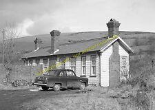 Lletty Brongu Railway Station Photo. Pontyrhyll - Maesteg. Port Talbot Rly. (4)