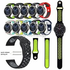 Silicone Sport Band For Samsung Gear S3 Classic / Frontier Wristwatch Straps